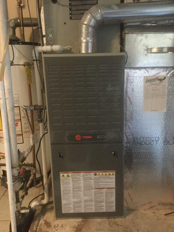 Trane Gas Furnace no Heat gas valve replacement