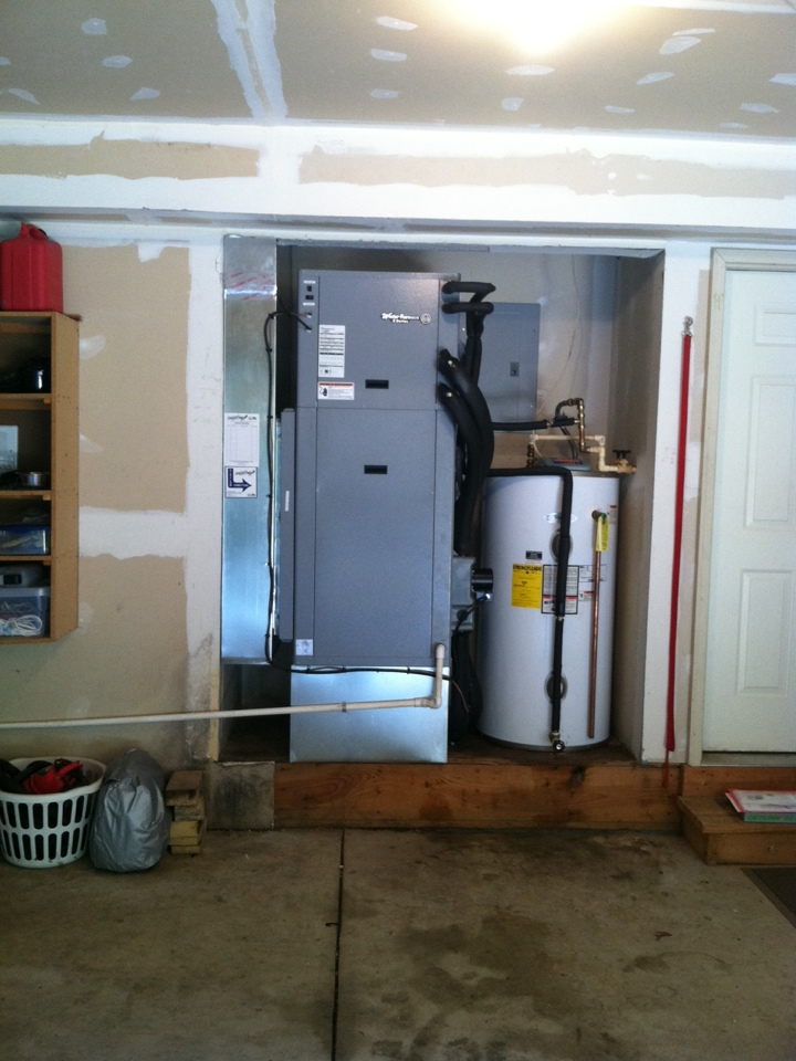 Paragon, IN - Installation of geothermal heating and air conditioning system