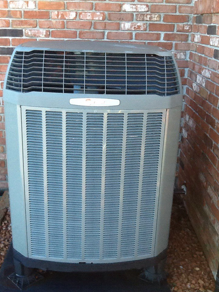 Jamestown, IN - Performed heating tune up on a Trane heat pump