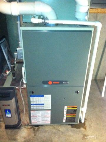 Bainbridge, IN - Repair on a trane furnace