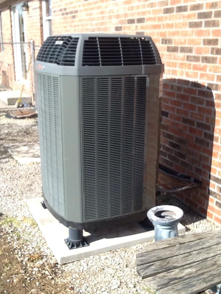 Bainbridge, IN - Heat Tune Up on Trane LP Gas Furnace & XL16i Heat Pump with Honeywell Prestige Thermostat