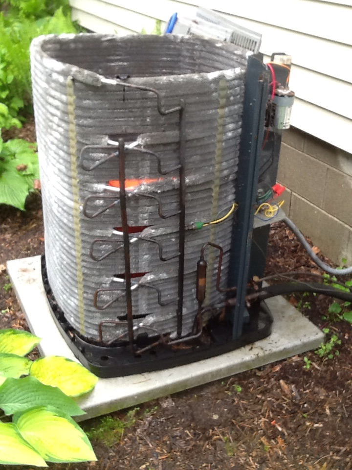 North Salem, IN - AC Tune Up on American Standard Air Conditioner
