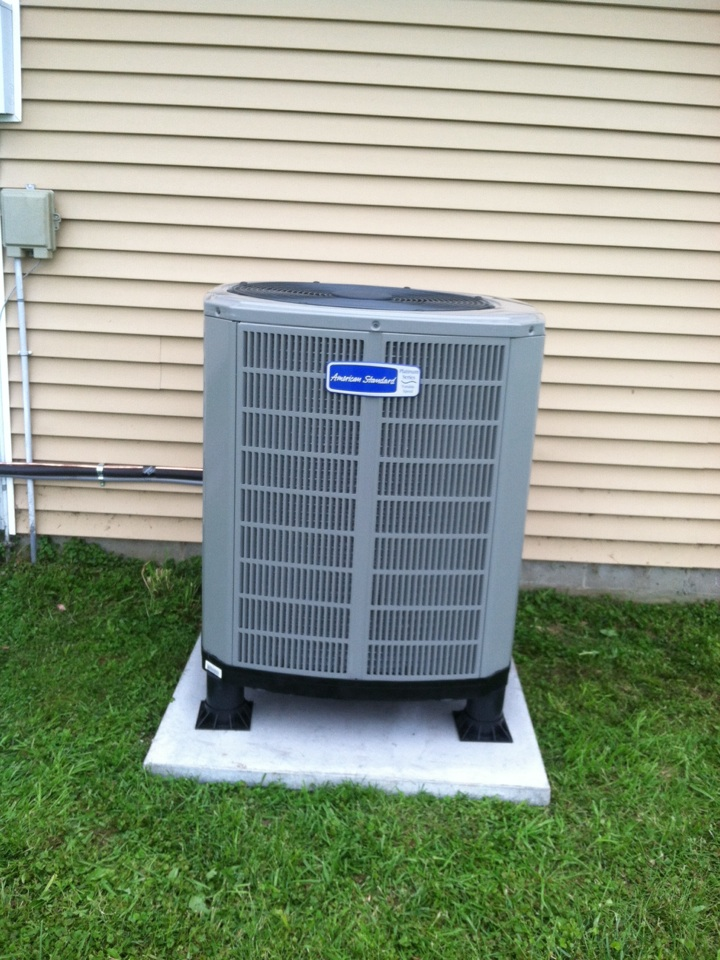 North Salem, IN - Installation of American standard heat pump