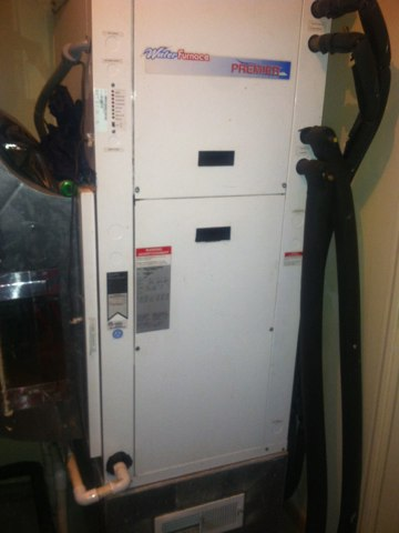 Jamestown, IN - Repair on a Waterfurnace air conditioner