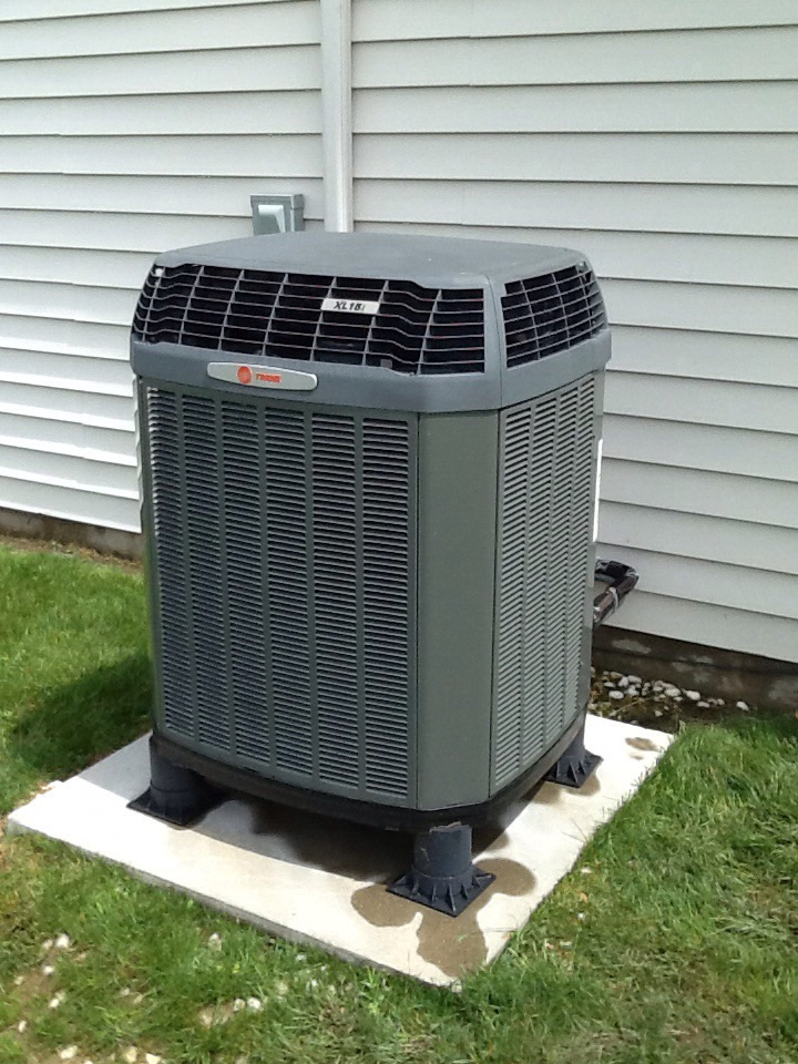 Camby, IN - Performed AC tune up on a Trane heat pump