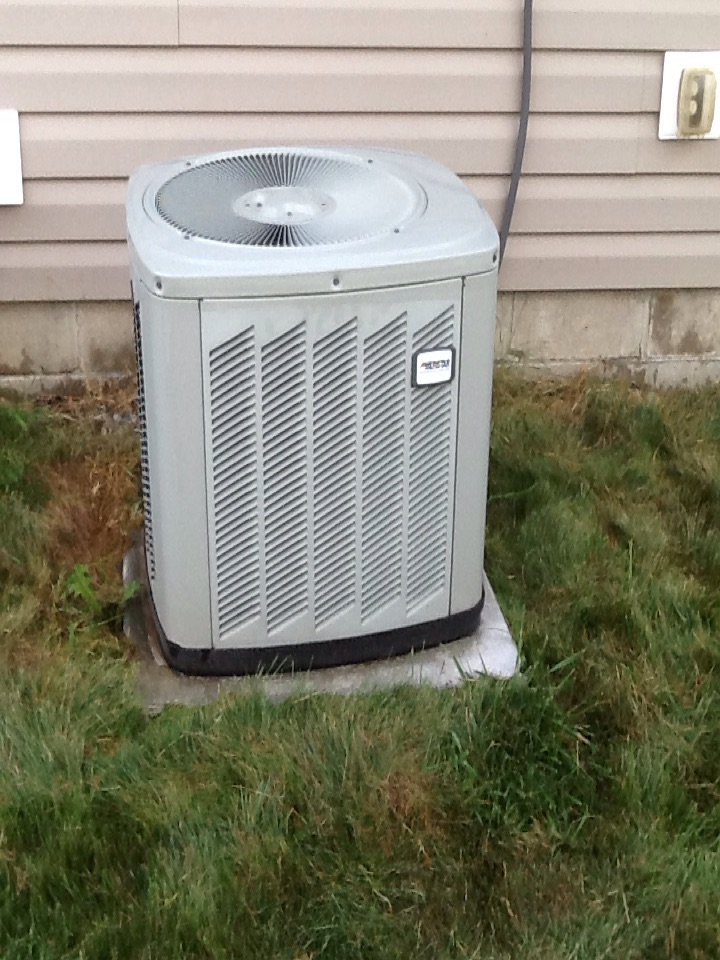 North Salem, IN - Performed AC service on a Amercian Standard air conditioner