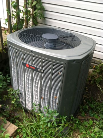 Morgantown, IN - Repair on a Trane air conditioner