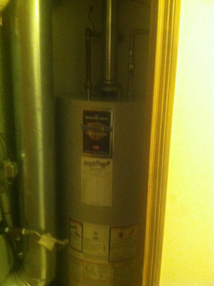 Camby, IN - Installed bradford white hot water heater