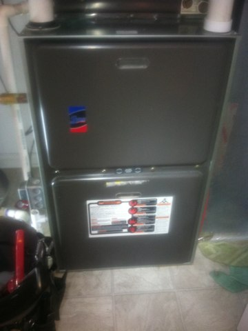 Camby, IN - Repairs on a Rheem gas furnace