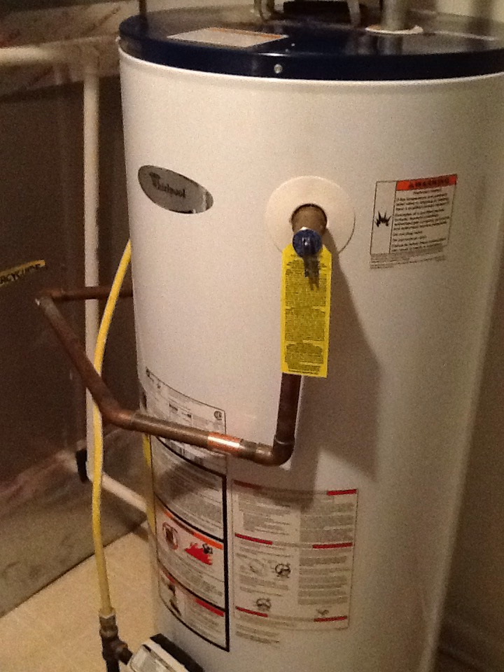 Noblesville, IN - Water Heater repair. Whirlpool