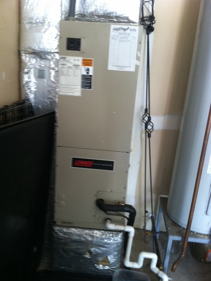 Camby, IN - Service call repair on Lennox electric furnace to replace blower module