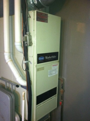 Stilesville, IN - Repair on a carrier gas furnace