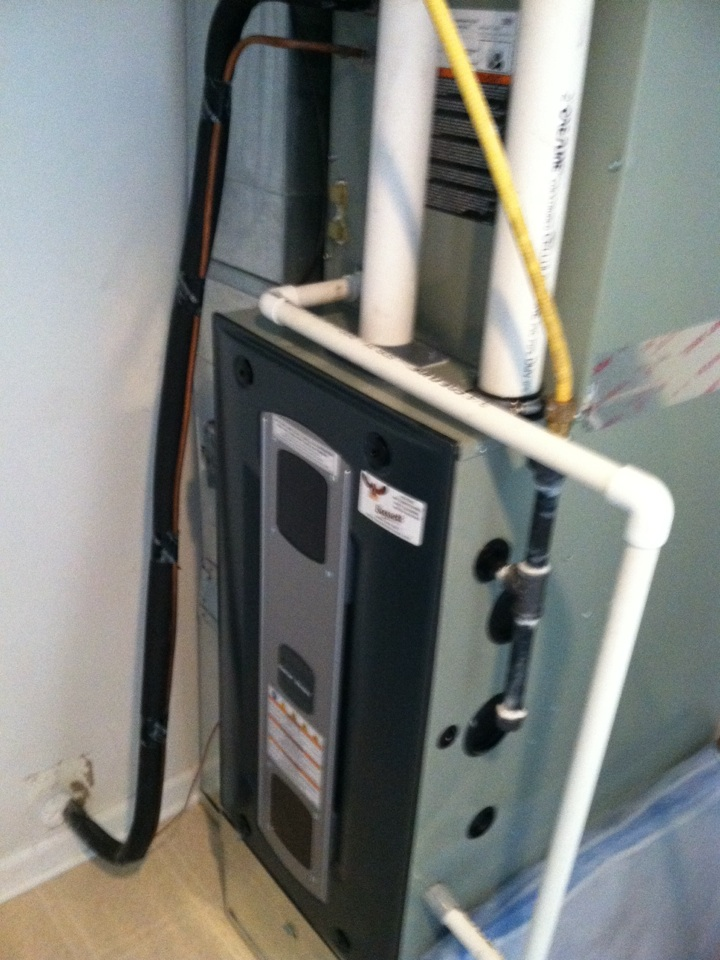 Noblesville, IN - Installed new furnace