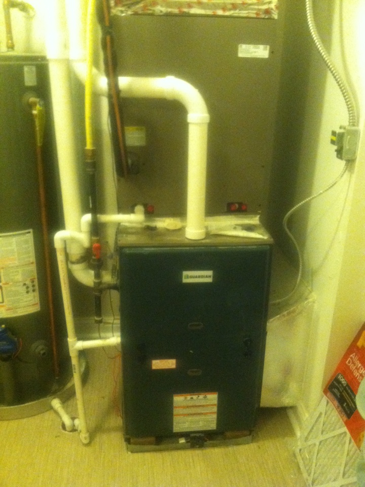 Camby, IN - Repair on guardian/Coleman gas furnace