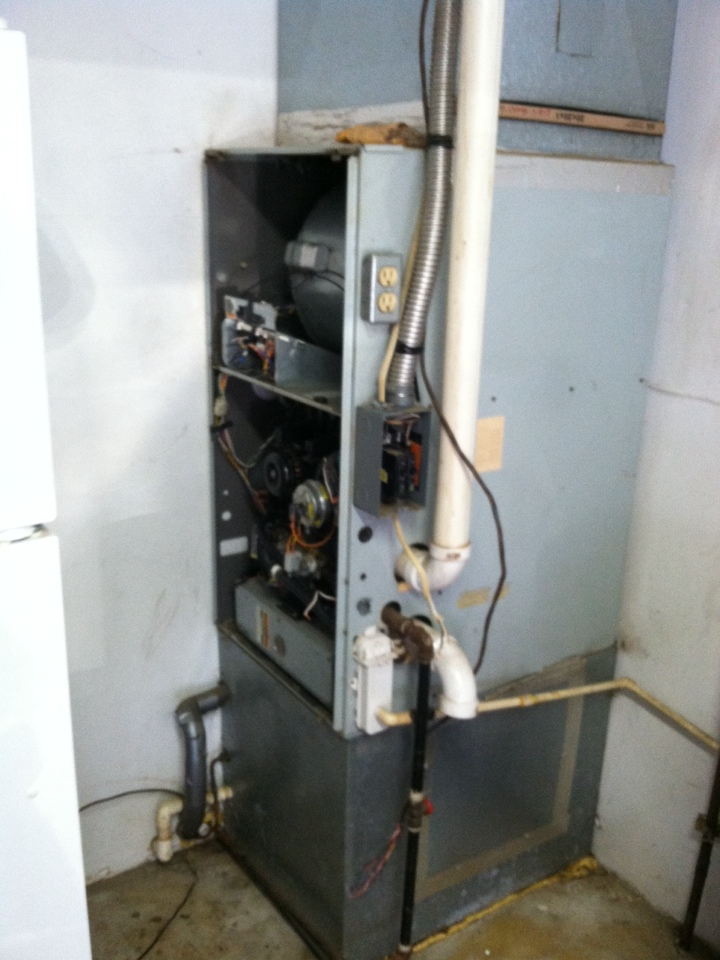 Stilesville, IN - Replacing Bryant 90 percent furnace with American standard furnace