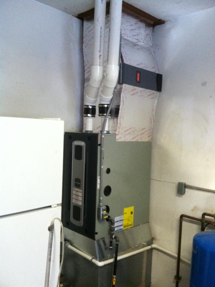 Stilesville, IN - Installation of American standard furnace