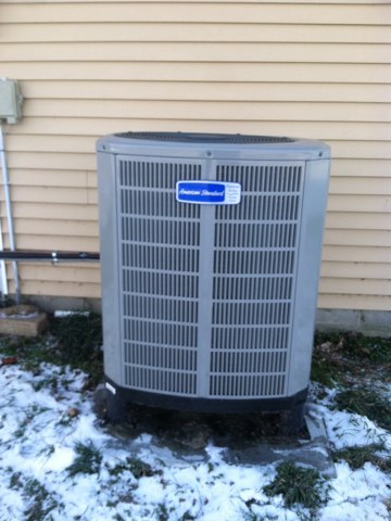 North Salem, IN - Repairs on a American Standard heat pump system