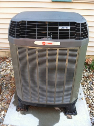 Fillmore, IN - Repairs on a Trane heat pump