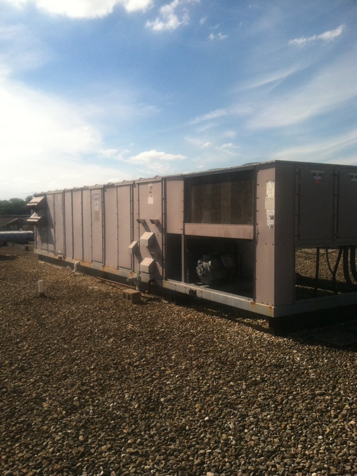 Monrovia, IN - Repair on carrier roof top heating system