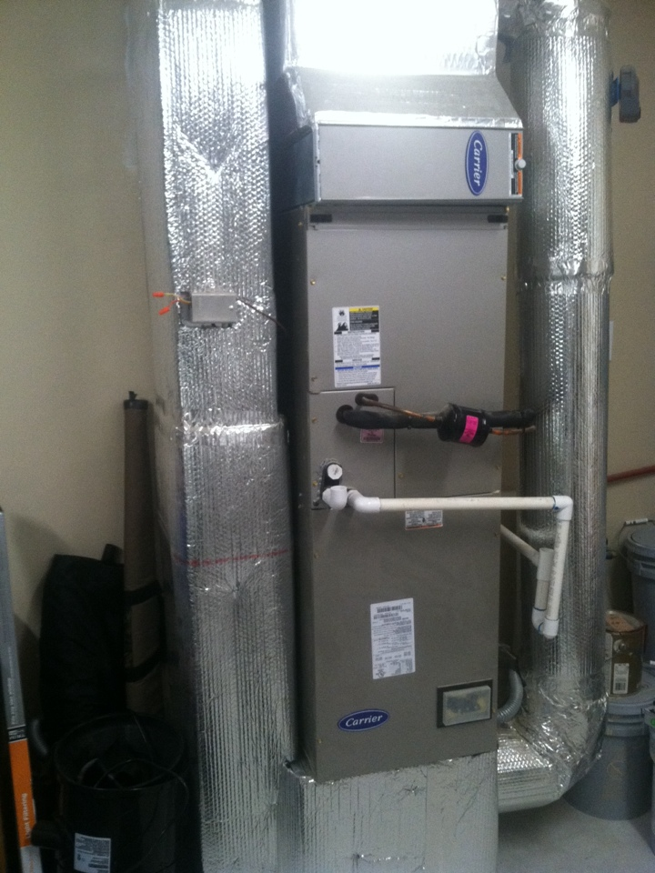 Greencastle, IN - Inspection of heat pump system