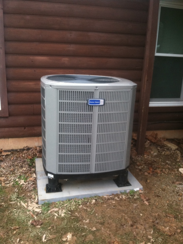 Paragon, IN - Installation of American standard heat pump
