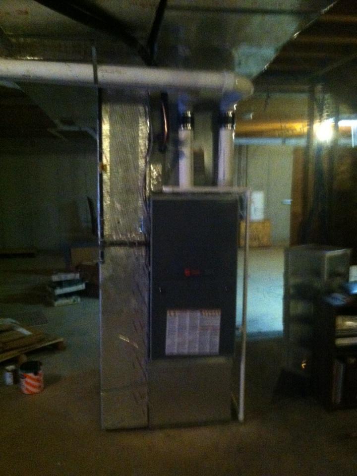 Zionsville, IN - Service on trane gas furnace