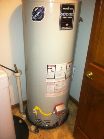 Clayton, IN - Replacing a gas hot water heater
