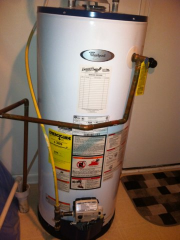 Noblesville, IN - Repairing a Whirlpool gas hot water heater