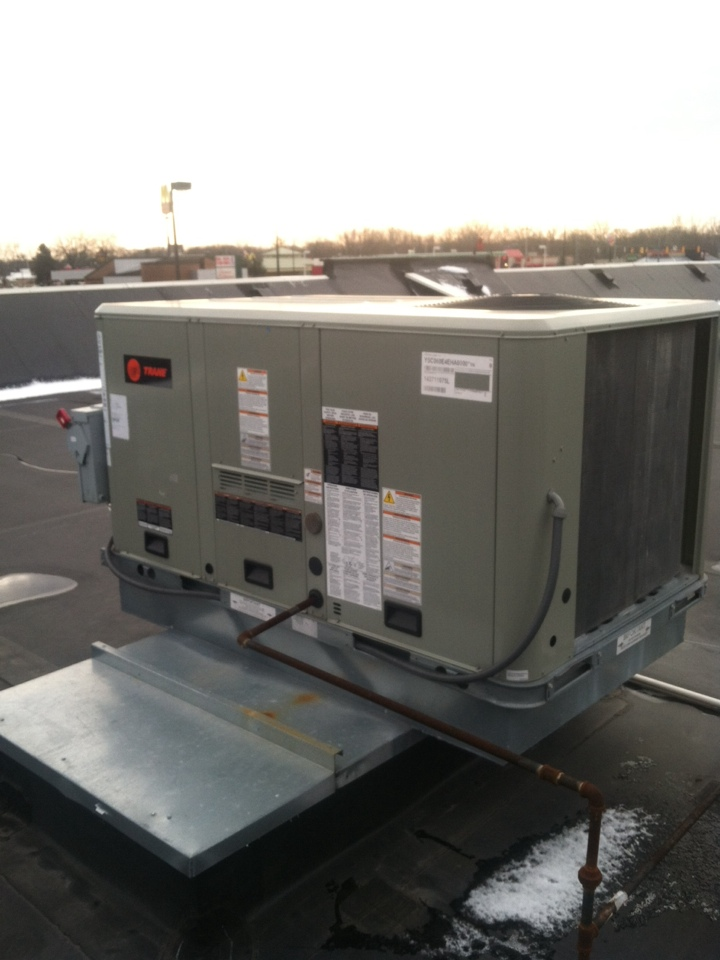 Danville, IN - Repair on trane commercial heating and cooling system