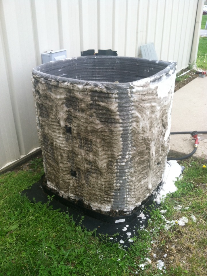Martinsville, IN - Annual cooling tune up on Trane AC unit