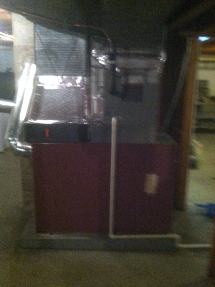 Clayton, IN - Installed oil furnace ac and coil