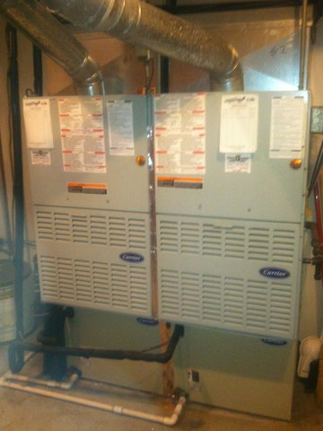 Brownsburg, IN - Repairing and servicing a carrier gas furnaces