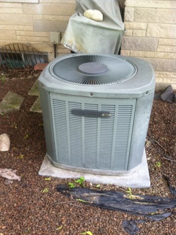 Coatesville, IN - Repairing a American Standard air conditioner