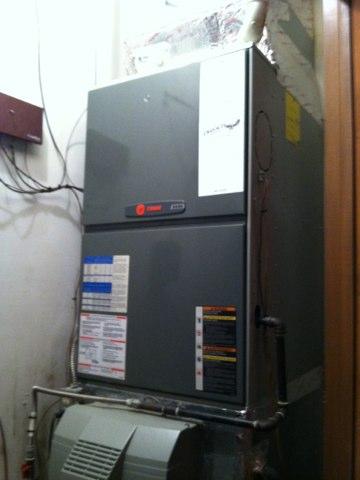 Monrovia, IN - Repairing a Trane gas furnace
