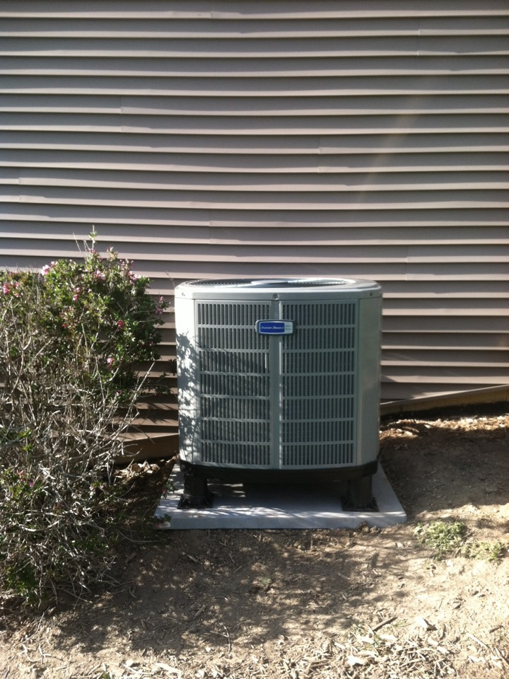 Fishers, IN - Installed air handler and heat pump