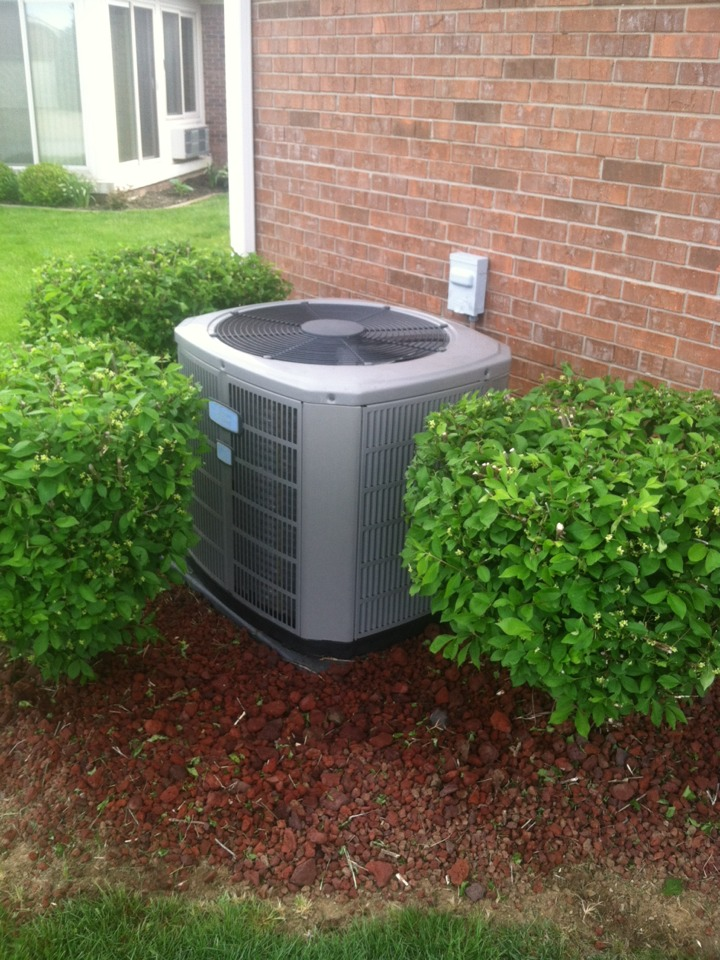 Plainfield, IN - Tune up on American standard air conditioning system