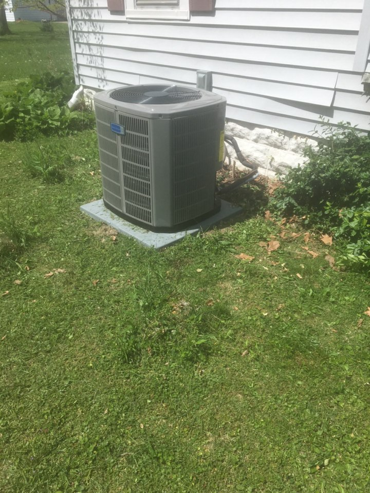 Greencastle, IN - Installation of American standard ac