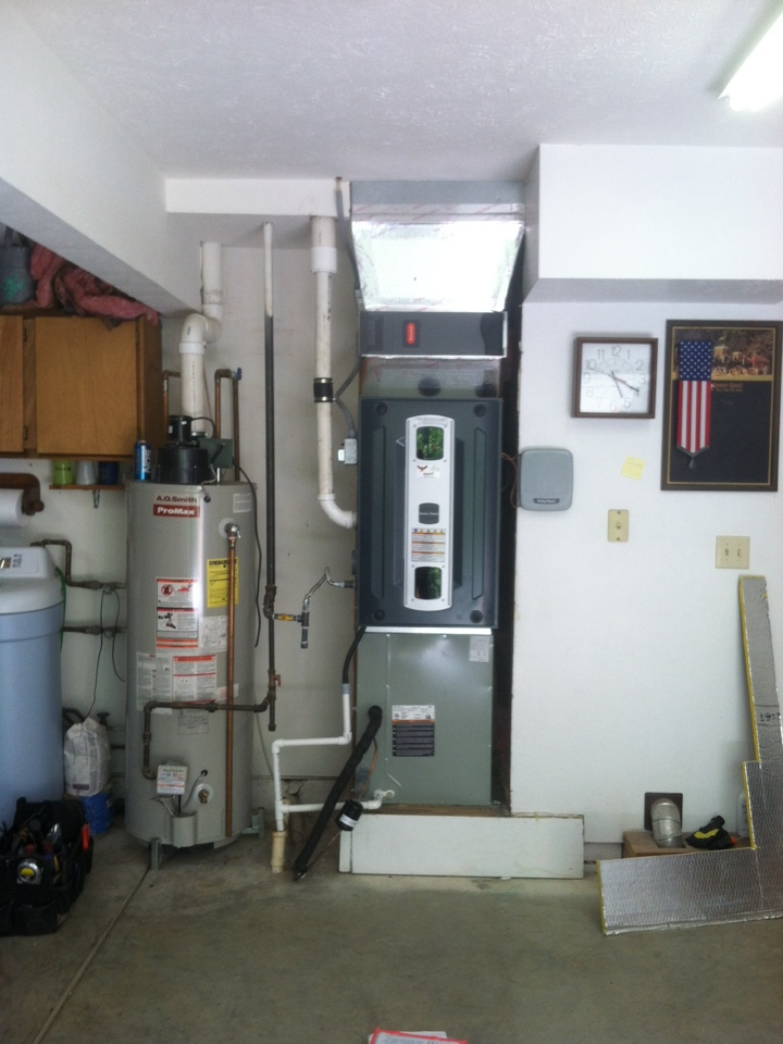 Martinsville, IN - Installed 90 percent furnace and variable speed ac