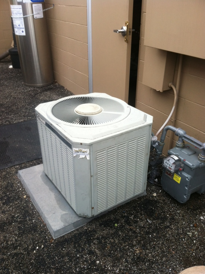 Avon, IN - Return service to perform recommended repairs from cooling AC tune up on Trane AC unit.