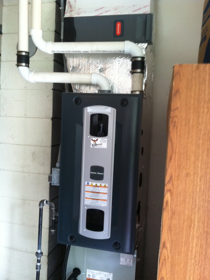 Indianapolis, IN - Installation of American standard furnace