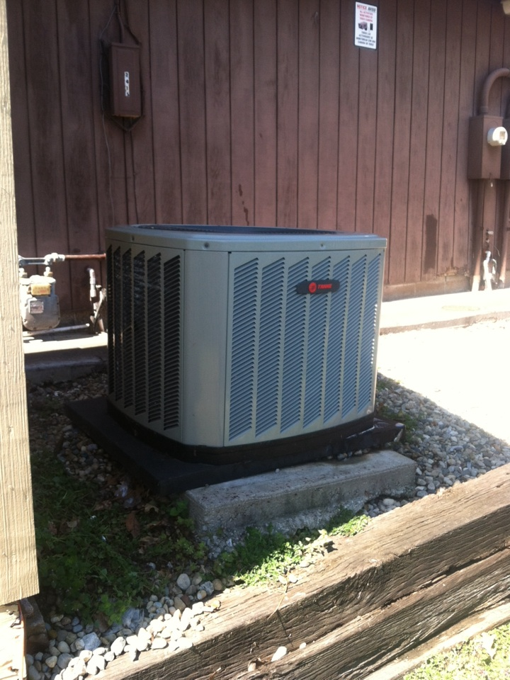 Monrovia, IN - Repair on trane air conditioning system