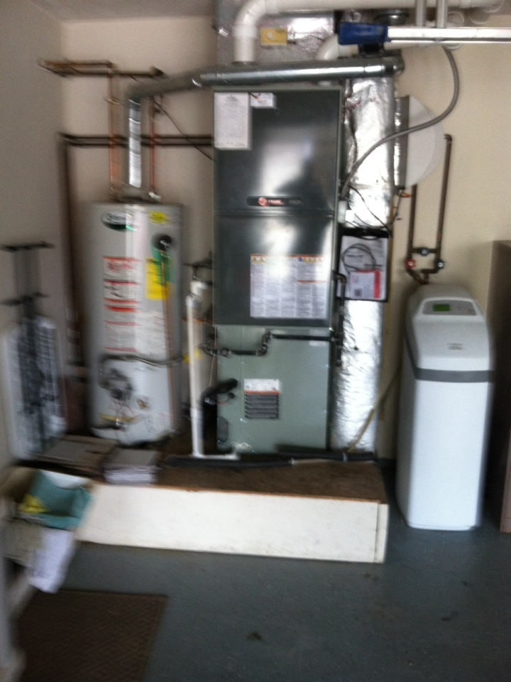 Plainfield, IN - Installed new ac