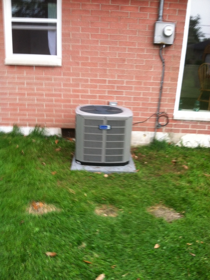 Mooresville, IN - Installed 90 percent furnace and ac