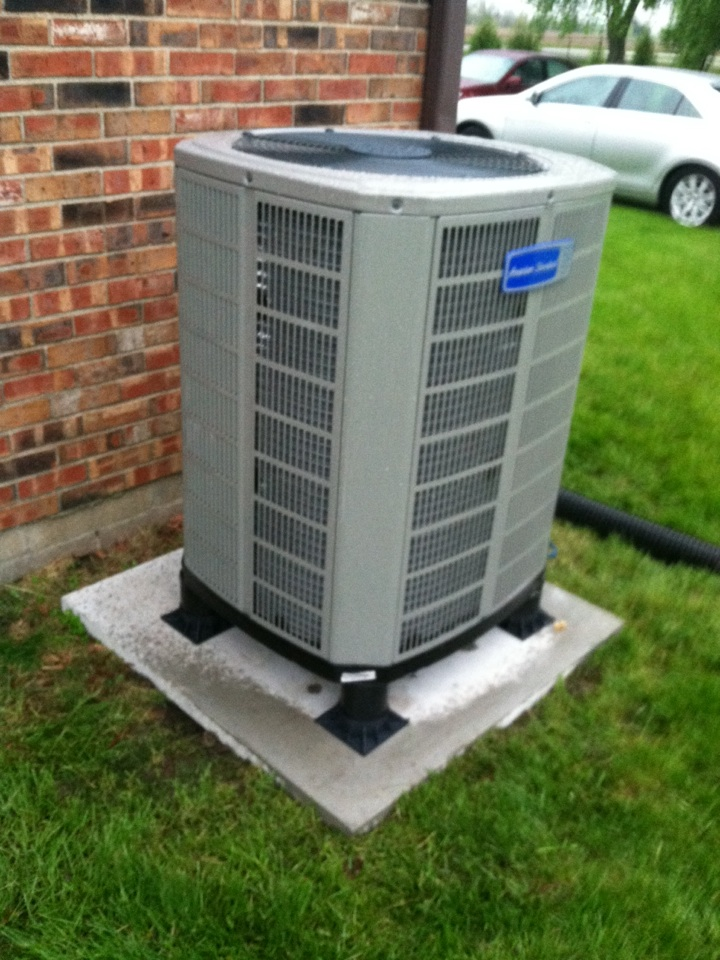 Pittsboro, IN - Installation of American standard hp system