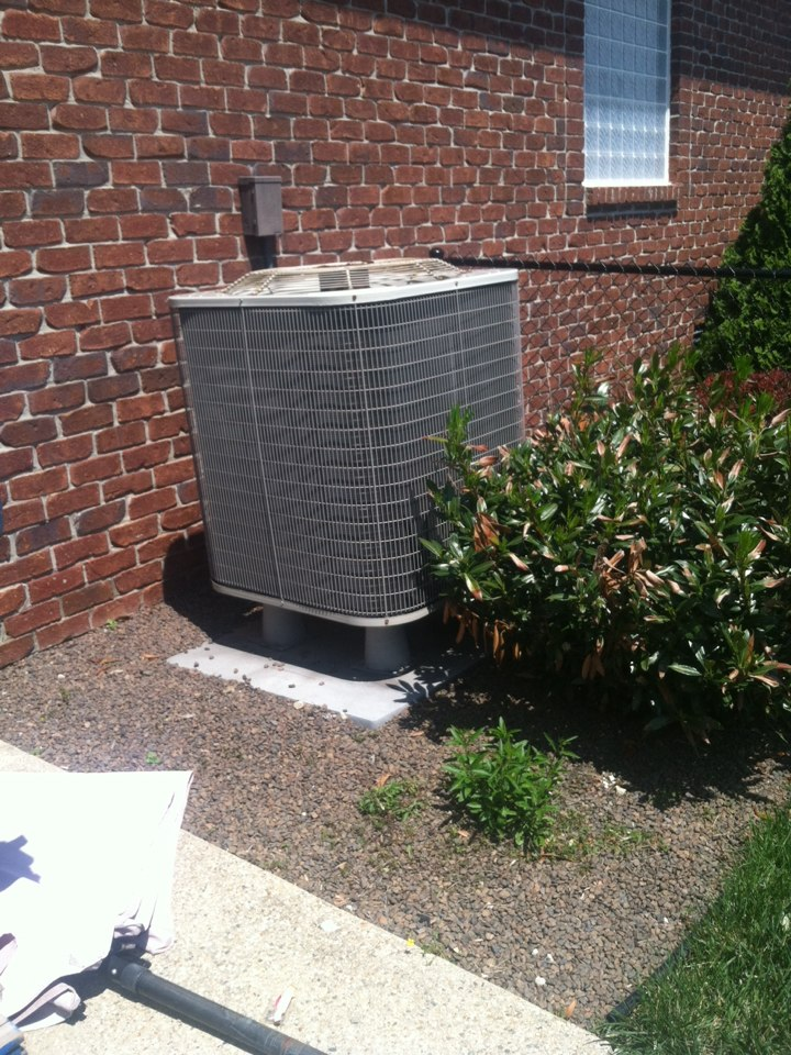 Fillmore, IN - Coil repair on air conditioning system.