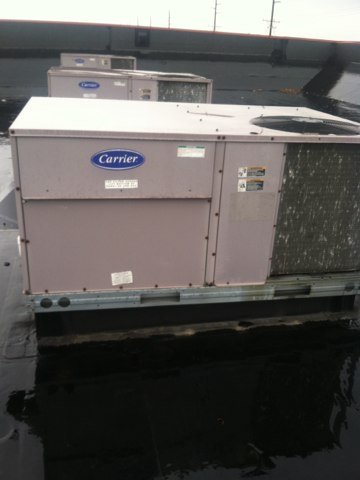 Greenwood, IN - Repairing a Bryant air conditioner