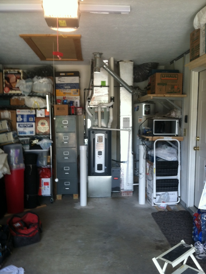 Greenwood, IN - Installed 90 percent furnace ac and coil