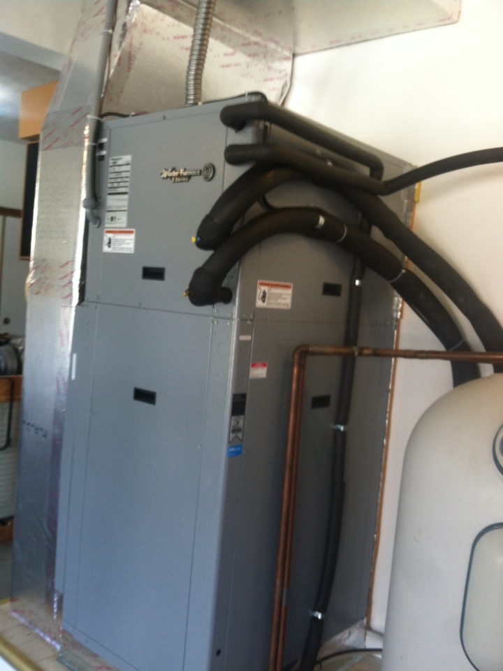 Greenwood, IN - Installation of water furnace geothermal