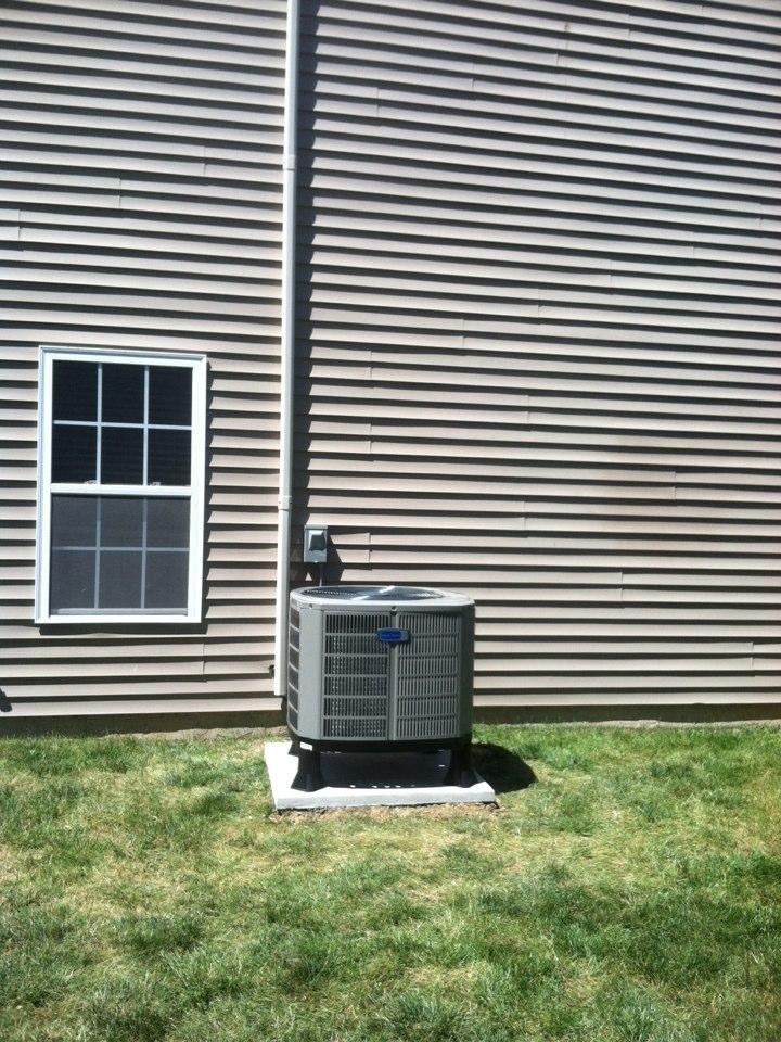 Brownsburg, IN - Installed air handler and. Heat pump