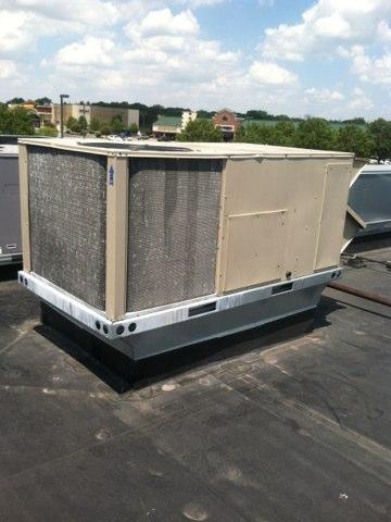 Brownsburg, IN - Repairing a Lennox air conditioner